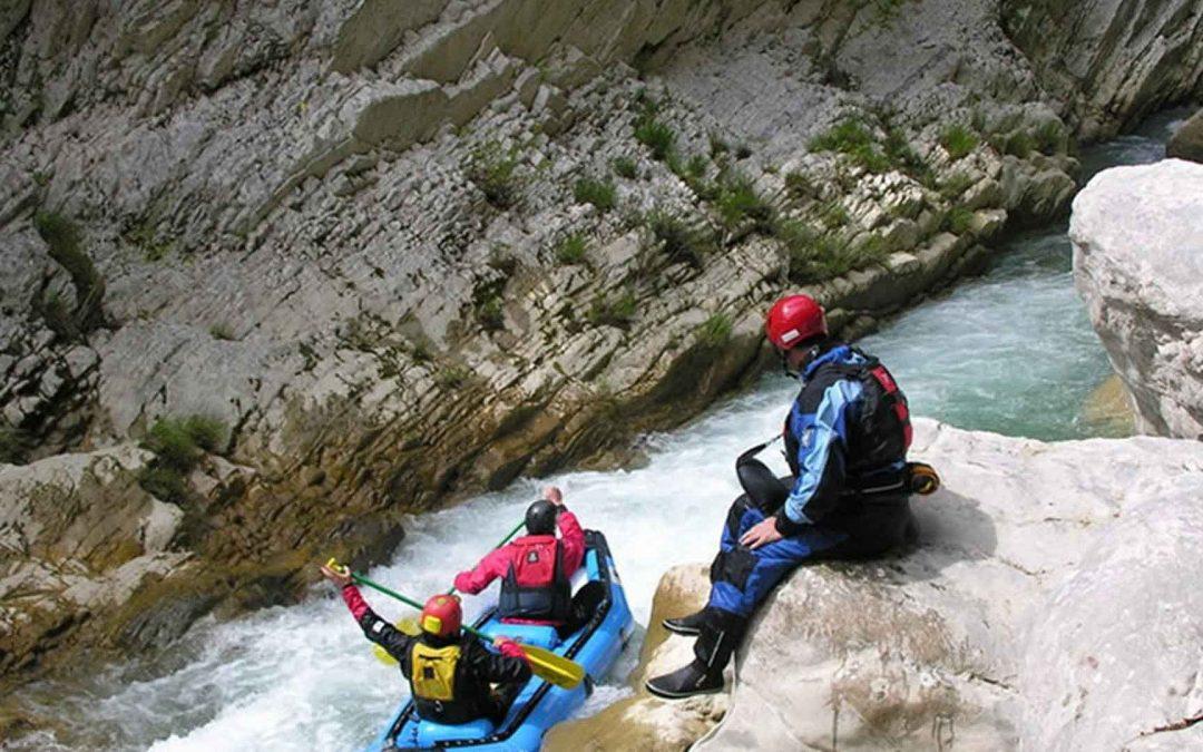 Rafting στον Αχέροντα, Πύλες του Άδη