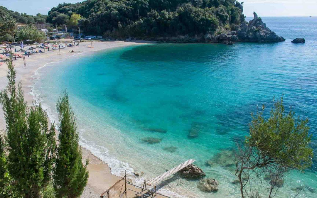 The crystal coasts of Parga