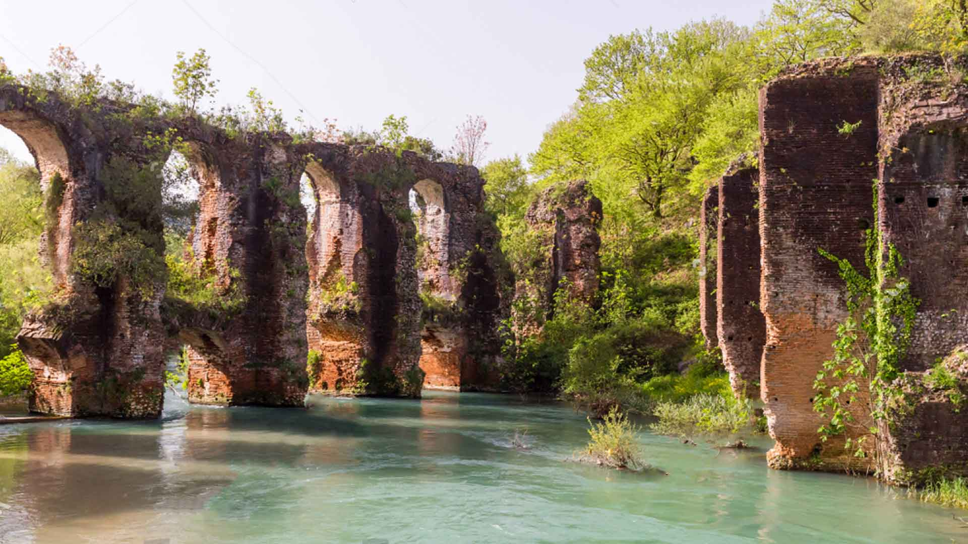 Exploring Louros springs and the Lake of Zirou