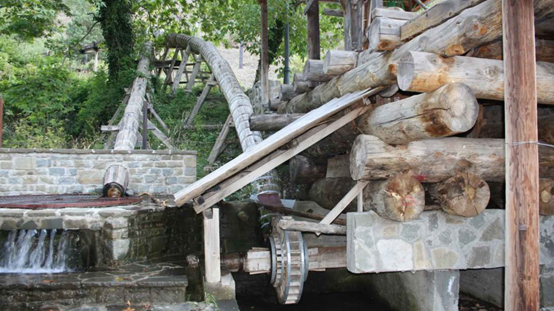 The watermills of Konitsa