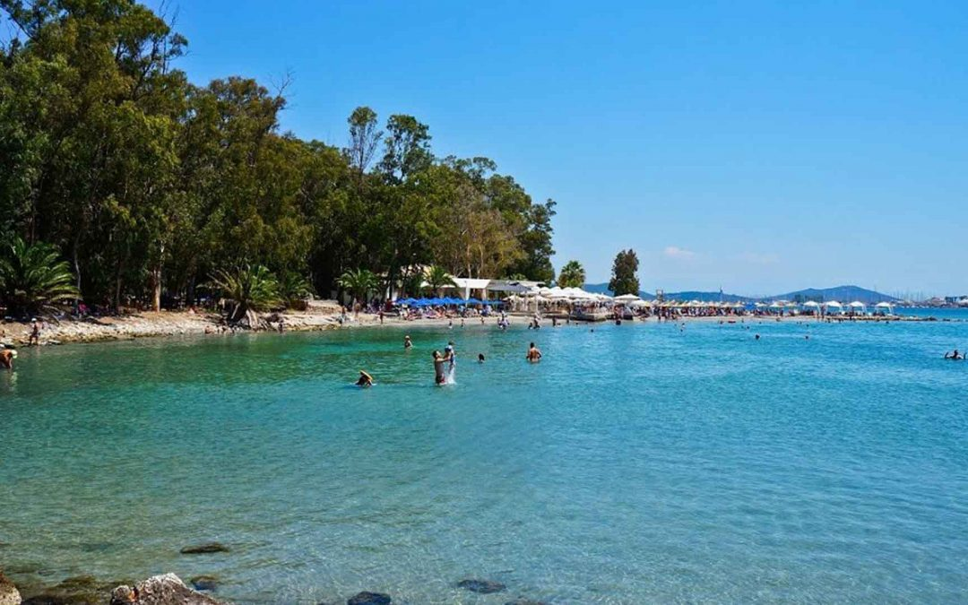 Beaches in the city of Preveza