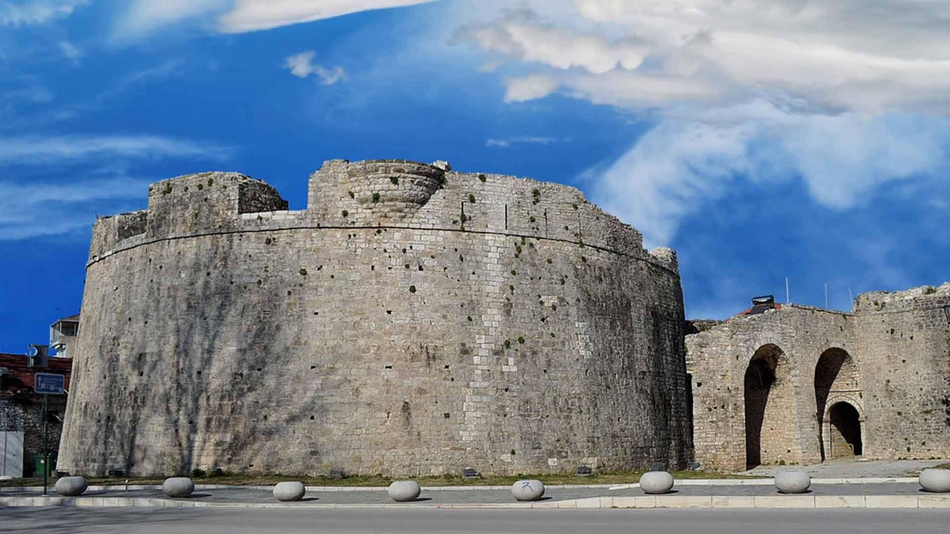 The imposing Castle of Ioannina