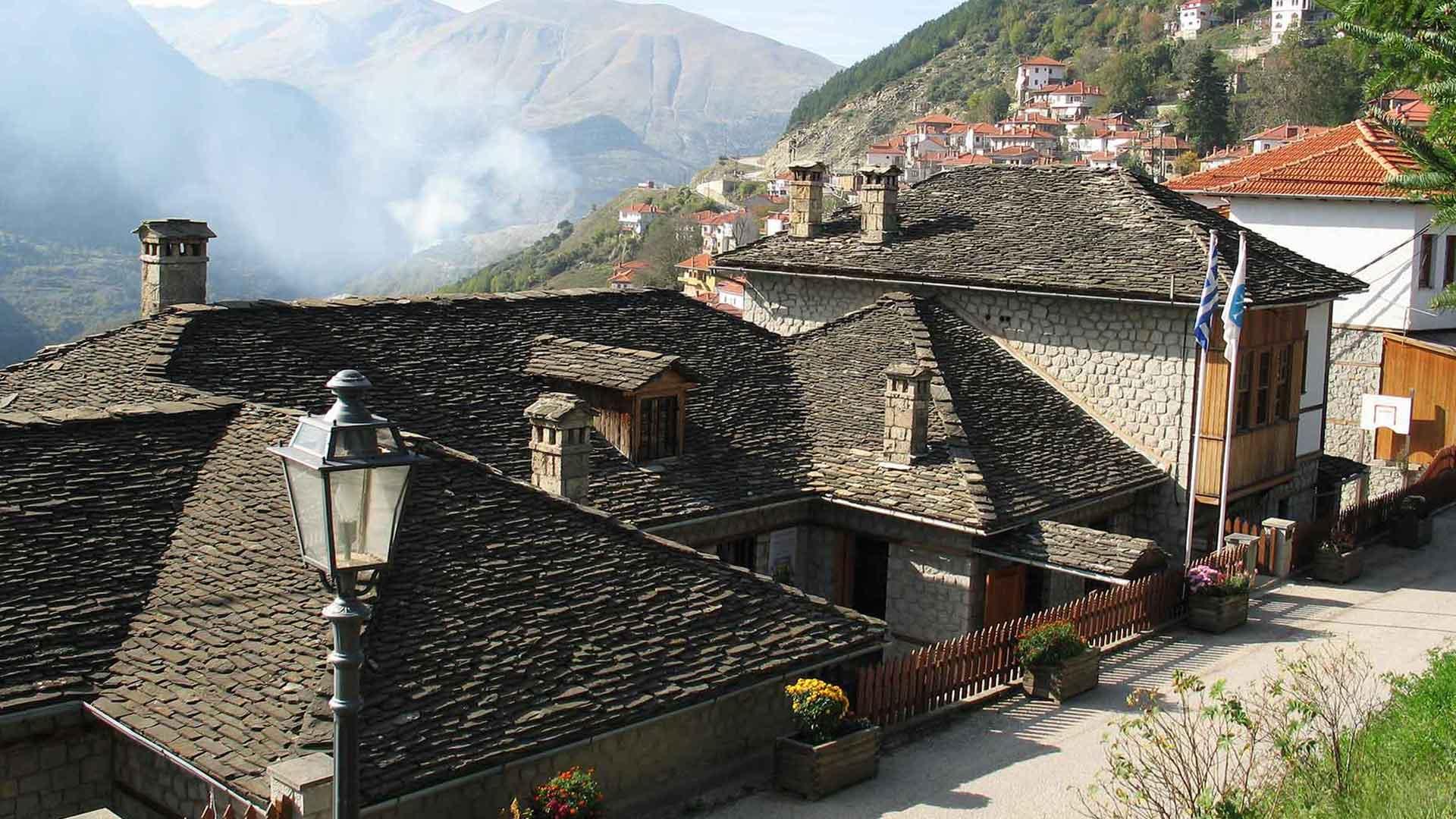 Metsovo: long history of a small mountainous city