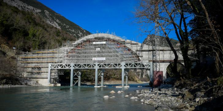 Αναστήλωση Γεφυριού της Πλάκας